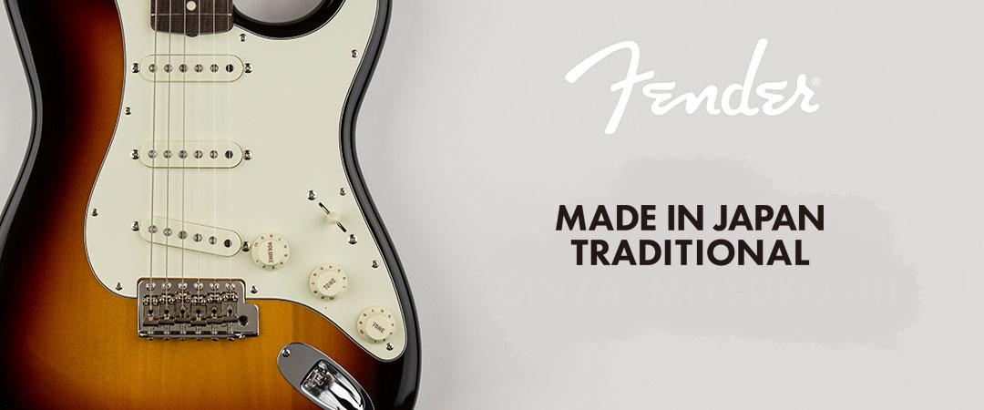 Fender Made In Japan Traditional Hybrid